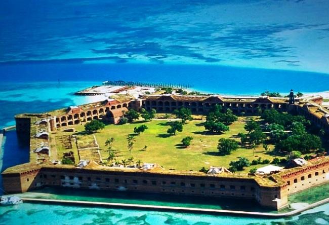 Форт который стоит на воде  Джефферсон 2