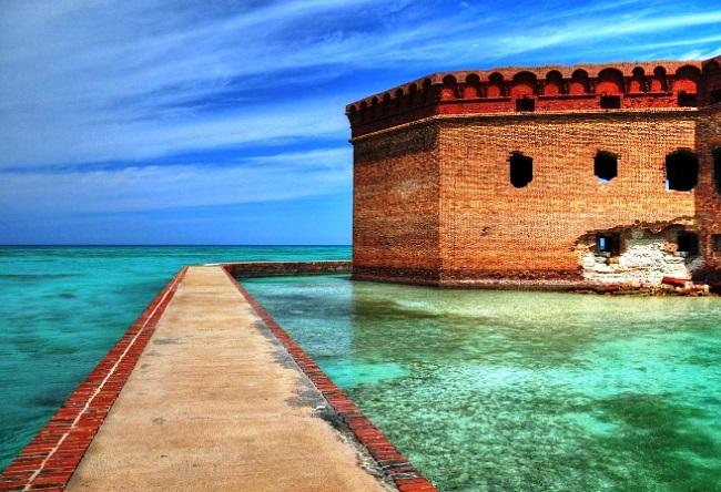 Форт который стоит на воде  Джефферсон 3