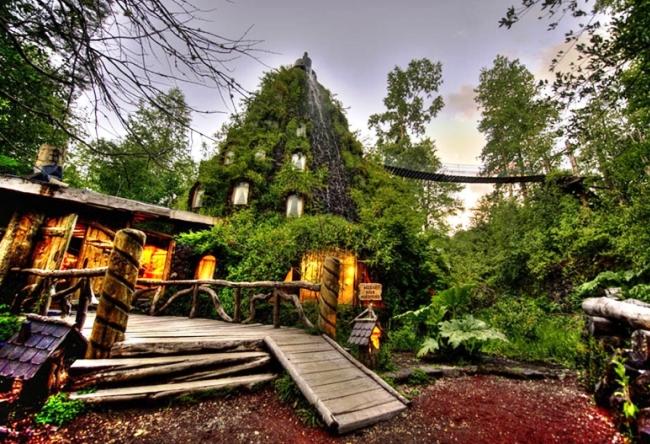 Чили  отель Волшебная гора 2