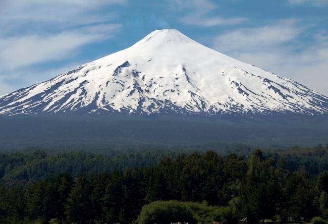 Чили  отель Волшебная гора 5
