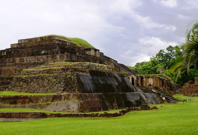 Tazumal is a Postclassic Mayan city 2