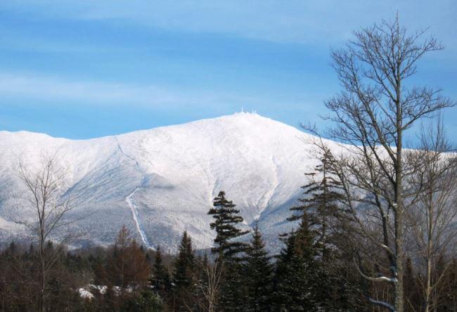 The top of Mount Washington 5