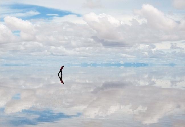 Salty desert Salar de Uyuni 5