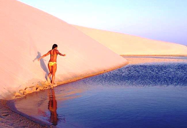 Water desert Lencois Maranenses 3