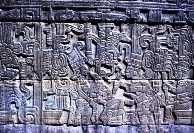 City feathered serpent Xochicalco 4