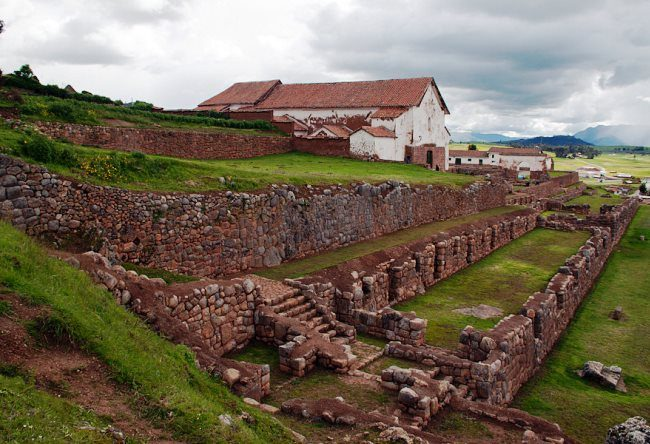 Rural Inca emperor residence the city Chinchero 2