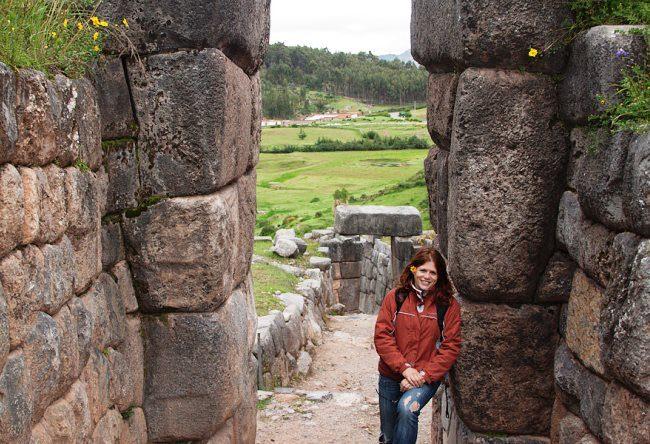 Rural Inca emperor residence the city Chinchero 3