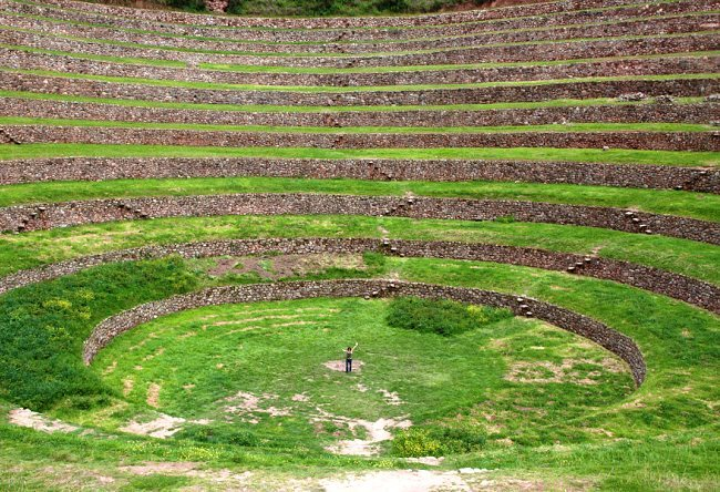 Rural Inca emperor residence the city Chinchero 4
