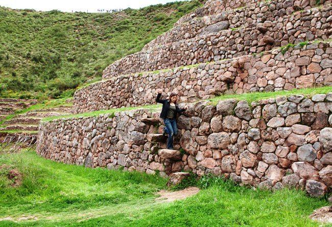 Rural Inca emperor residence the city Chinchero 5