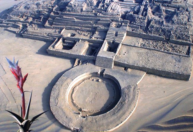 The ancient trading city of the Americas Caral 2
