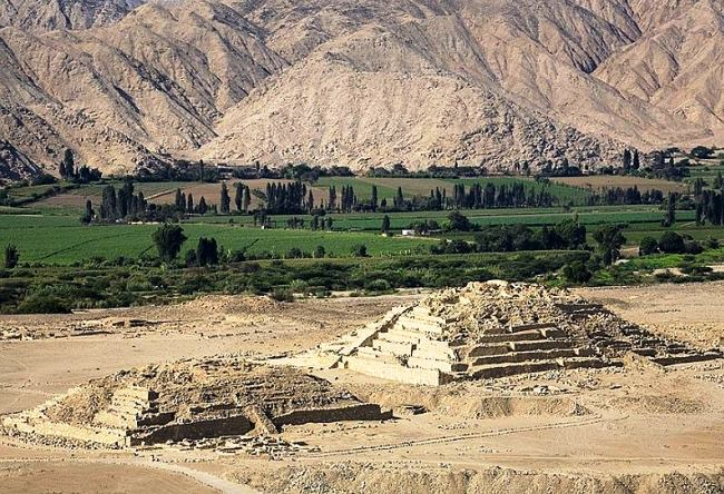 The ancient trading city of the Americas Caral 3