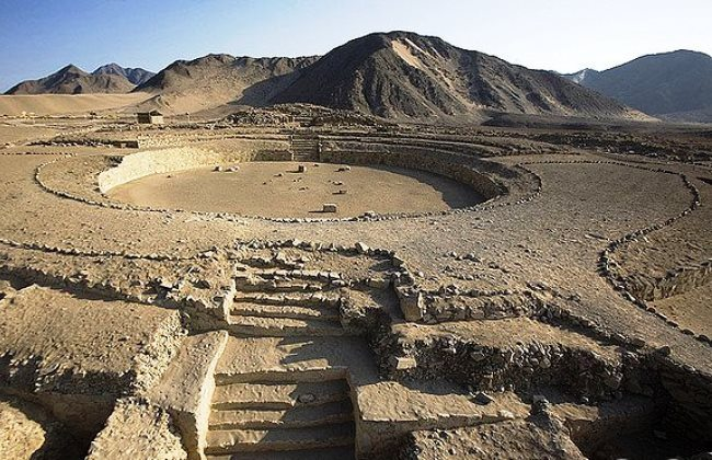 The ancient trading city of the Americas Caral 5