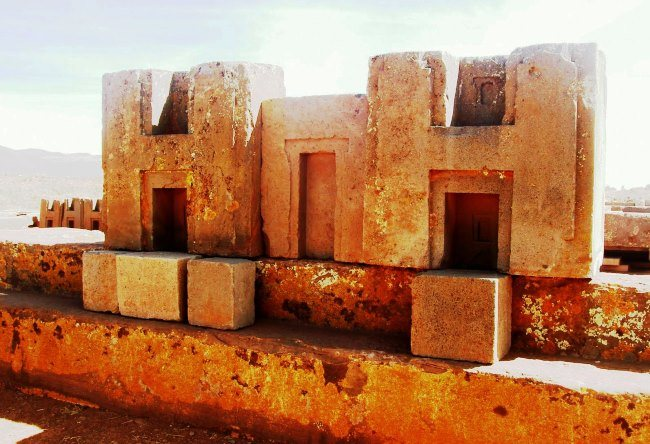 The megalithic complex of Puma Punku in La Paz 3