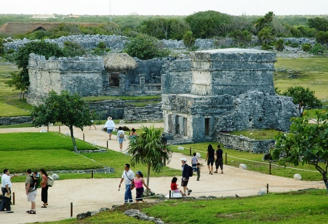 Tulum is an ancient Mayan city 3