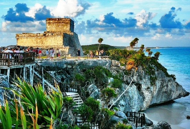 Tulum is an ancient Mayan city 4