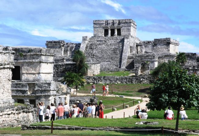 Tulum is an ancient Mayan city 5