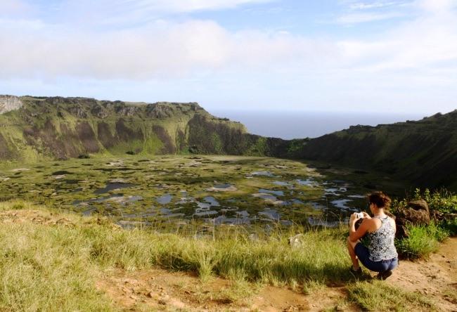 Rano Kau Volcano Easter Island 3