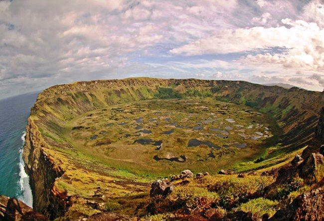 Rano Kau Volcano Easter Island 5