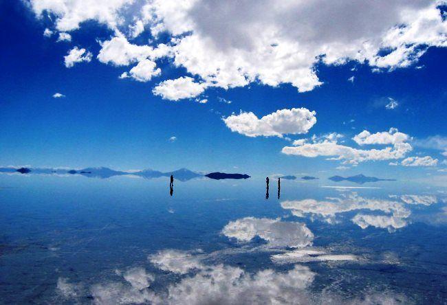 Salt mirror Salar de Uyuni 3