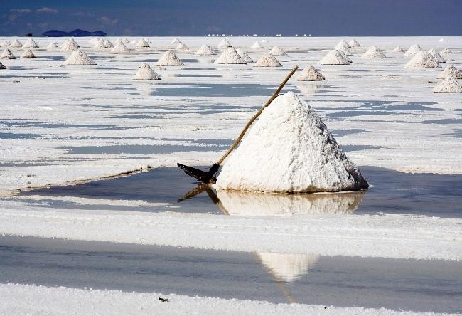 Salt mirror Salar de Uyuni 4