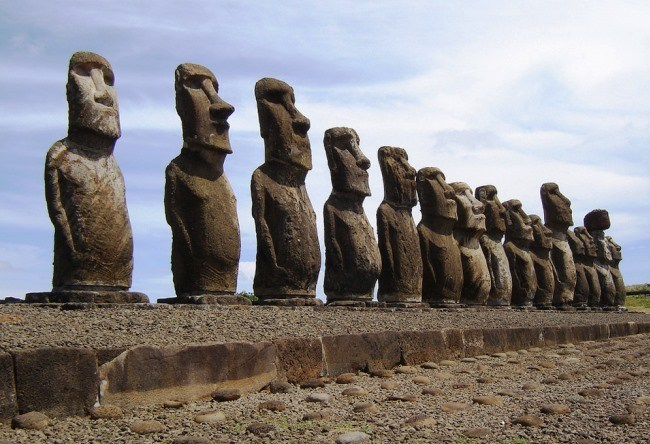 Stone giants of Easter Island 2