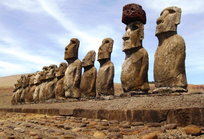 Stone giants of Easter Island 3