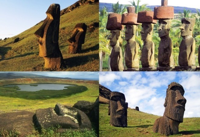 Stone giants of Easter Island 5
