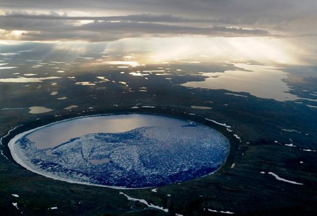 Chubb Crater or Crystal Eye of Nunavik 3