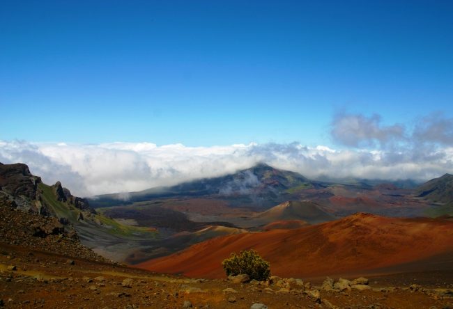 Sun captured or the crater of Haleakala on Maui 5