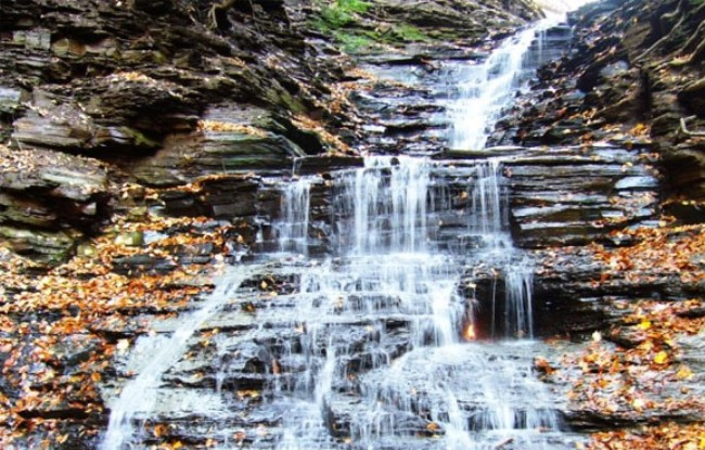 Eternal Flame Falls in Buffalo 3