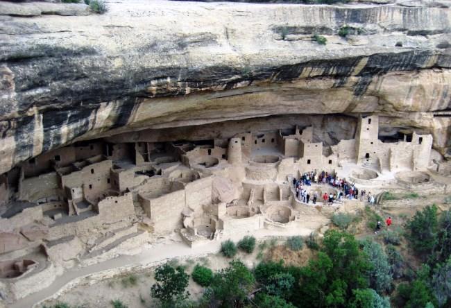 Ancient park Mesa Verde 3