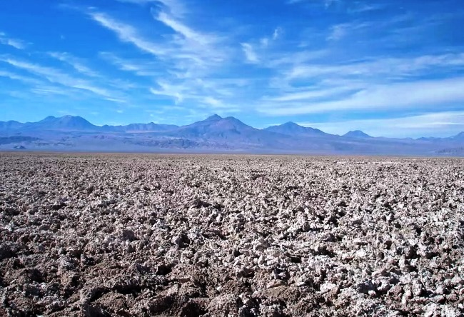 Atacama is the driest desert in the world 4