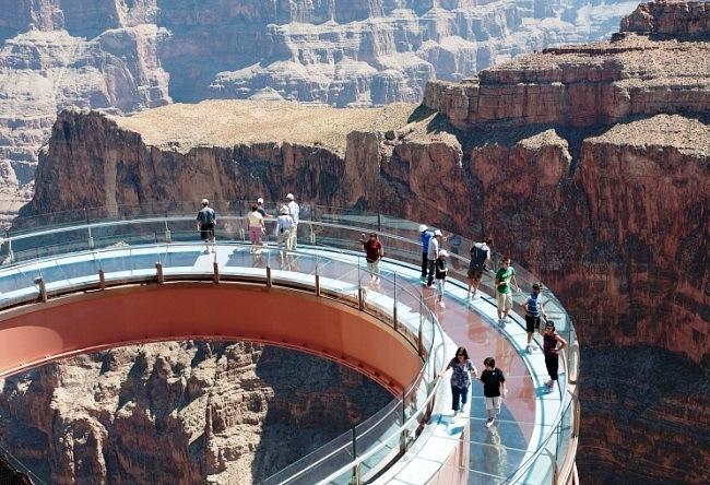 Heavenly walk or Skywalk observation platform 2