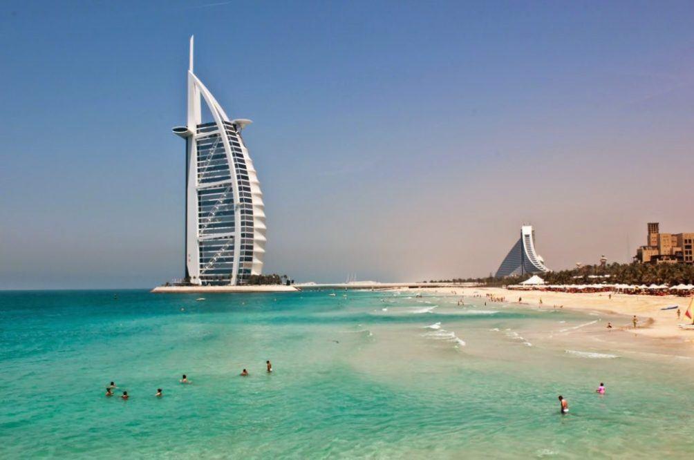 На море в ОАЭ