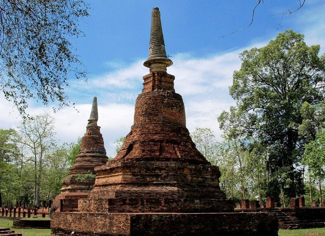 Город Кампхэнгпхет  исторический уголок Таиланда 2