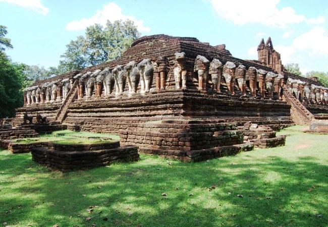 Город Кампхэнгпхет  исторический уголок Таиланда 4