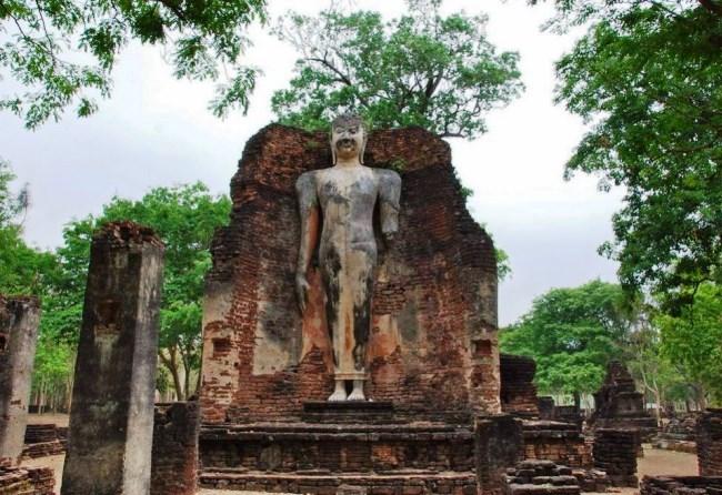 Город Кампхэнгпхет  исторический уголок Таиланда 5