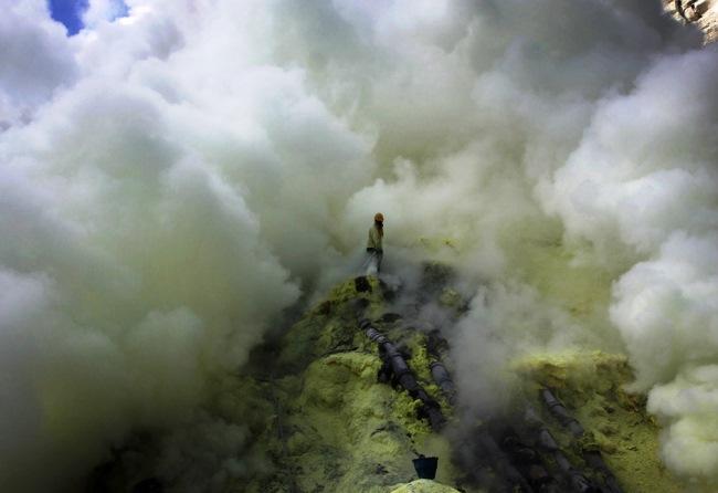 Ископаемые вулкана Кава Иджен 3