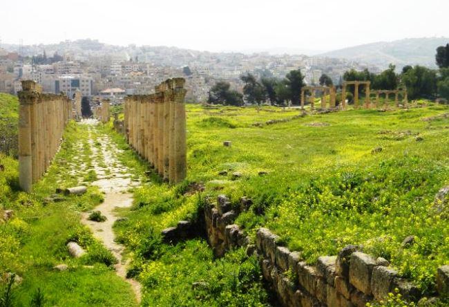 Иудейские древности или город Джераш 2