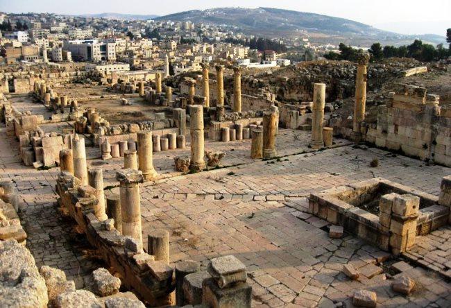 Иудейские древности или город Джераш 3