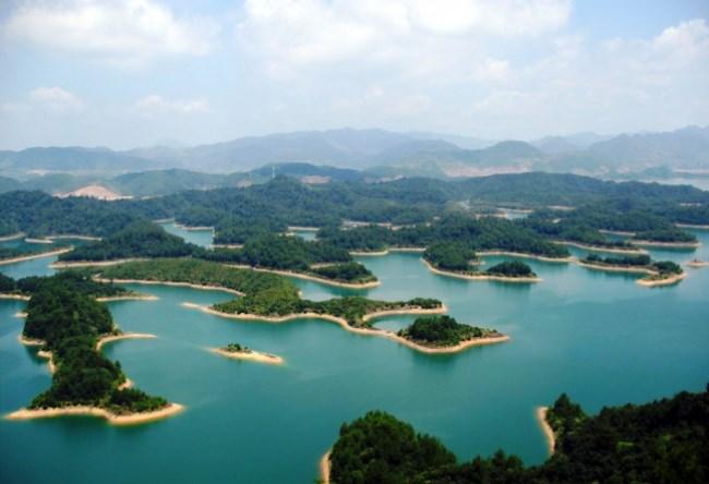 Озеро Тысячи Островов Цяньдаоху 3