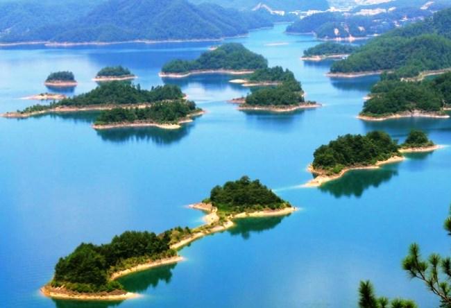 Озеро Тысячи Островов Цяньдаоху 4