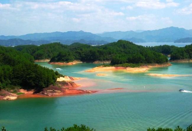 Озеро Тысячи Островов Цяньдаоху 5