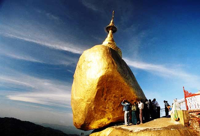 Золотой Камень, не поддающийся законам гравитации