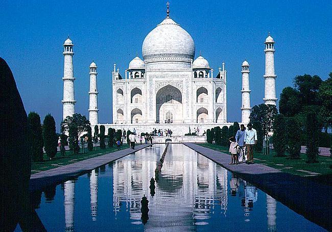 Тадж Махал – мавзолей-дворец-храм любви