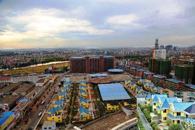Коттеджи на многоэтажке в городе Хэнъян 3