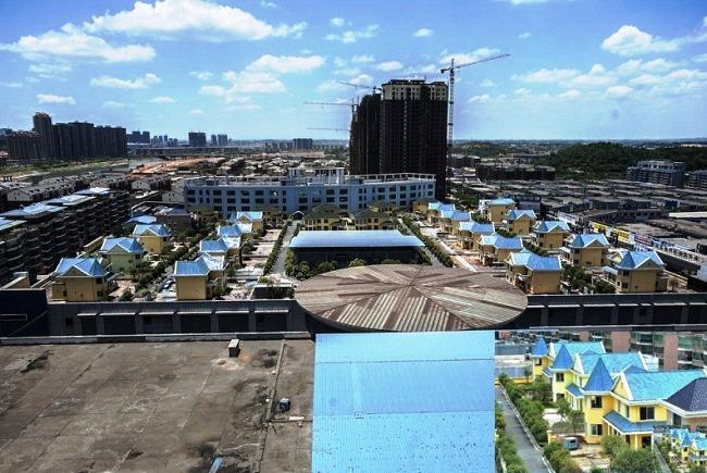 Коттеджи на многоэтажке в городе Хэнъян 5