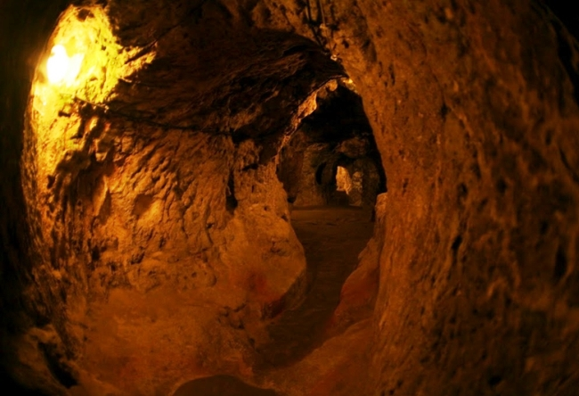 Подземный город Деринкую 4