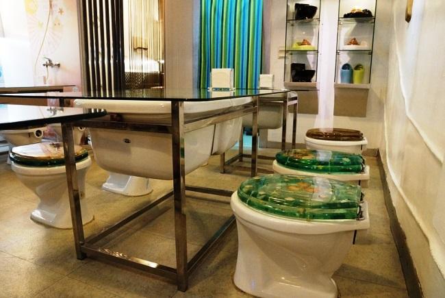 Туалетный ресторан в Китае 3