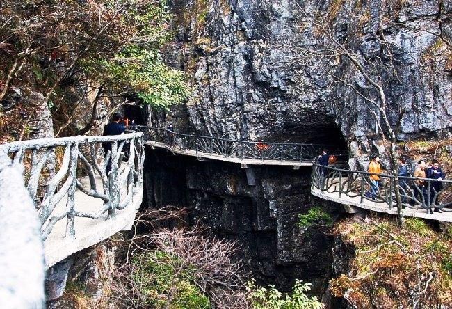 Волшебная пещера Западной Хунани 3